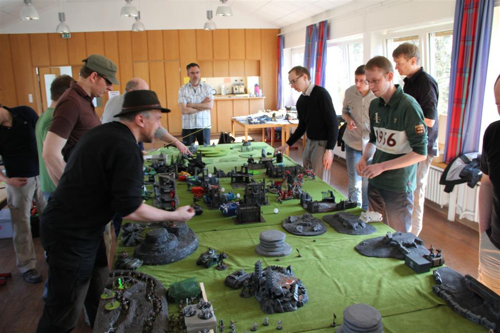 Schon legendär: Bild der ersten Apokalypse-Schlacht aus dem Jahr 2011.
